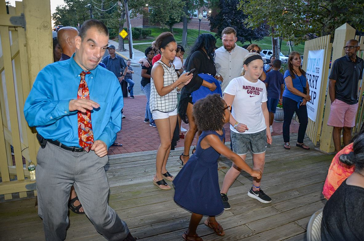 Ferry Slip Dancing Crowds2