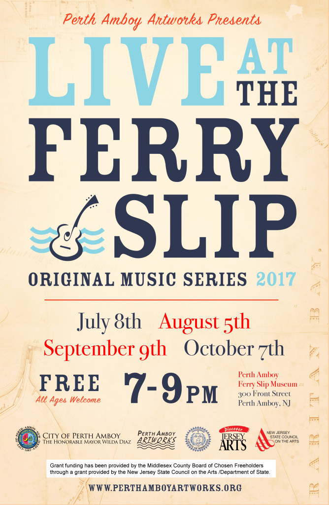 Live at the Ferry Slip Music Series 2017 Perth Amboy NJ
