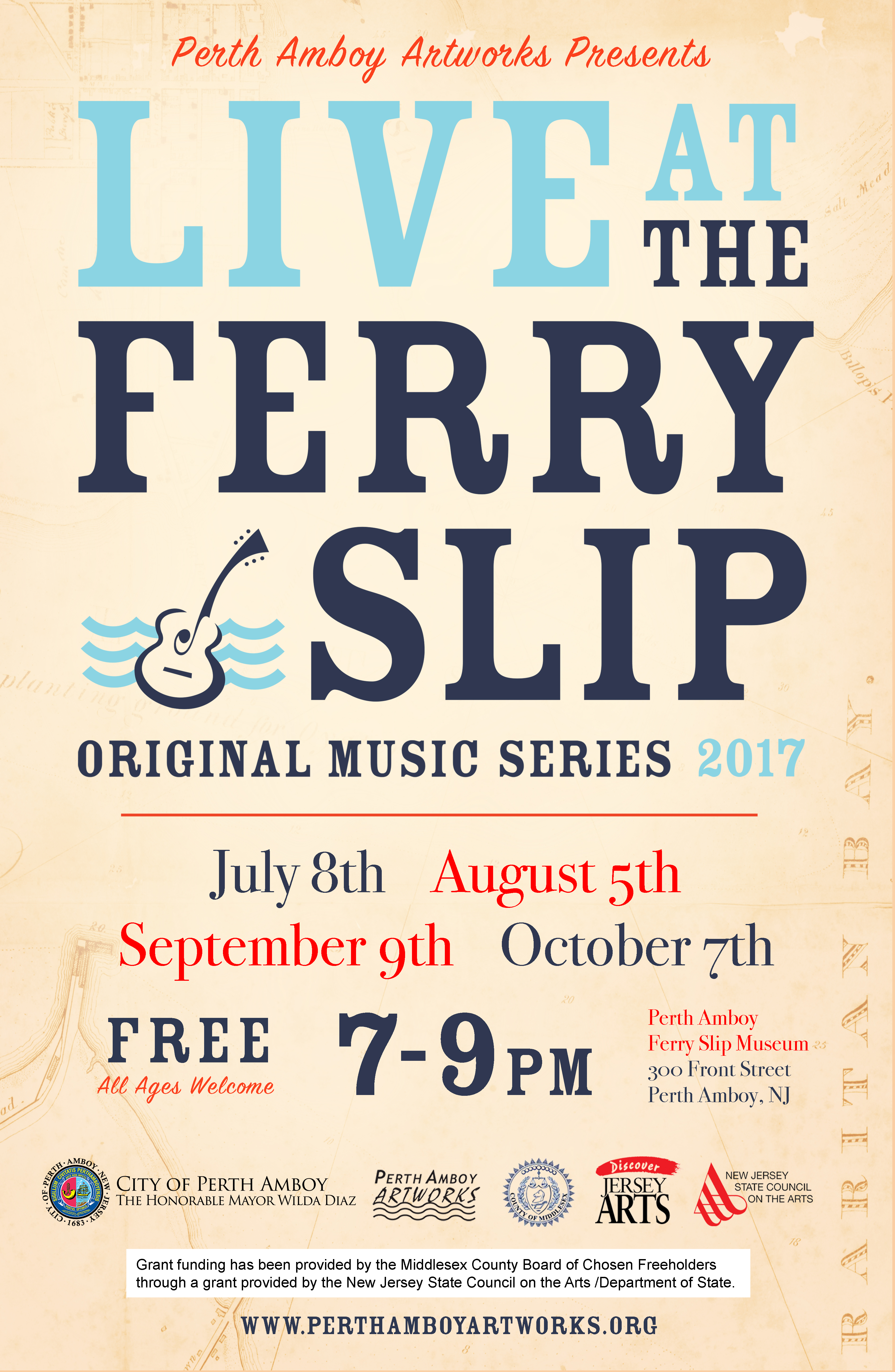 New jersey middlesex county perth amboy - Live At The Ferry Slip Music Series 2017 Perth Amboy Nj