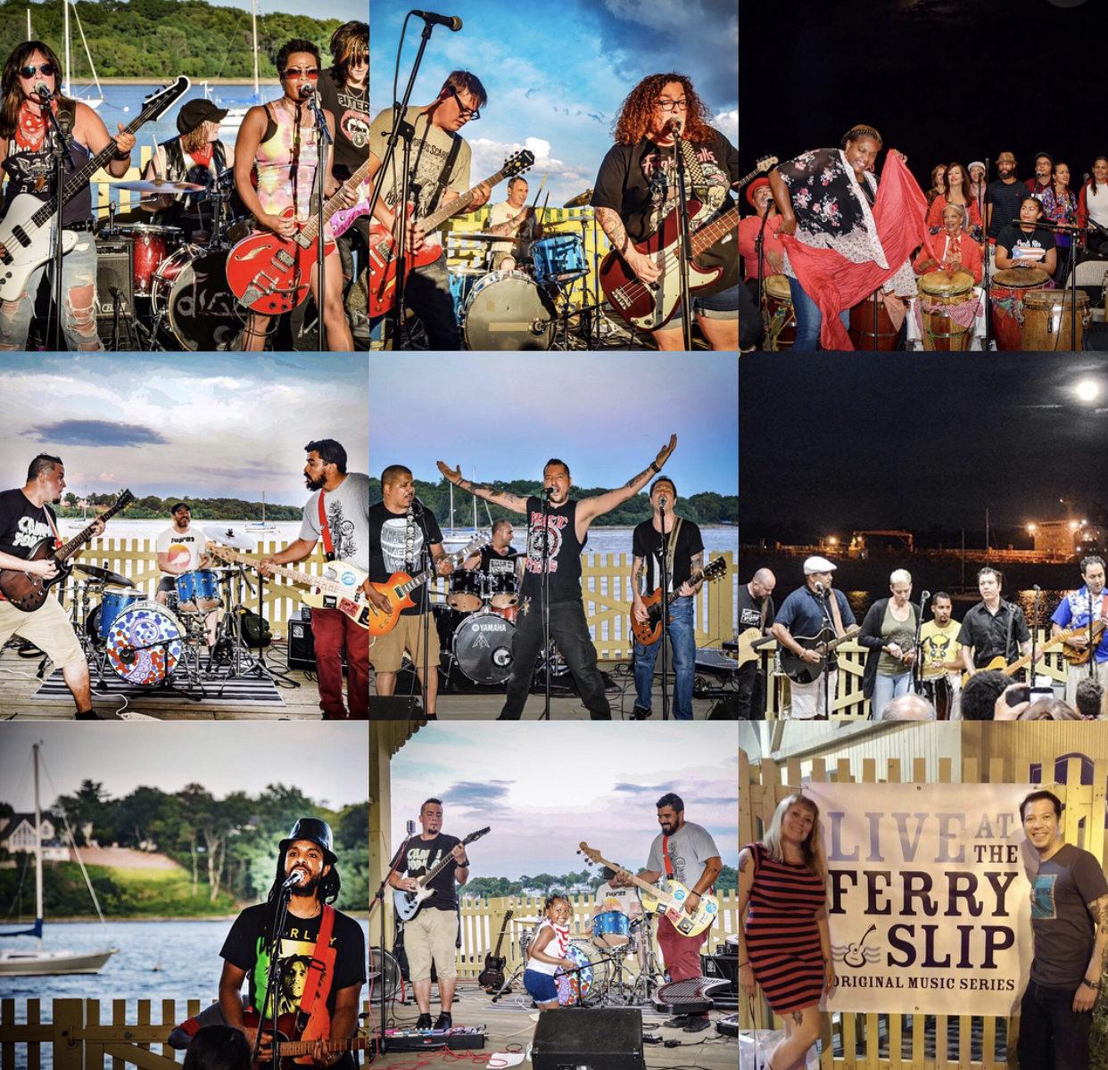Perth Amboy Artworks Live at the Ferry Slip Music Series Raritan Bay Perth Amboy NJ