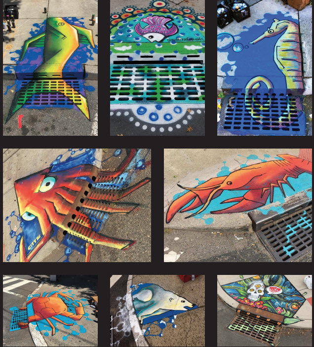 Catch Basin Murals Project