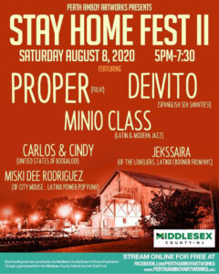 Perth Amboy Artworks Stay Home Fest 2