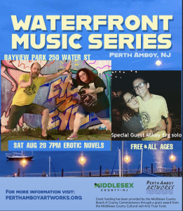 Perth Amboy Artworks Waterfront Music Series