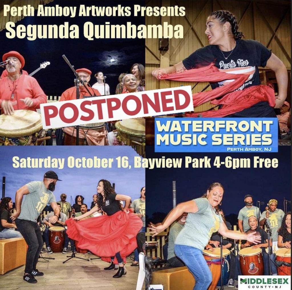 postponed segunda quimbamba in bayview park