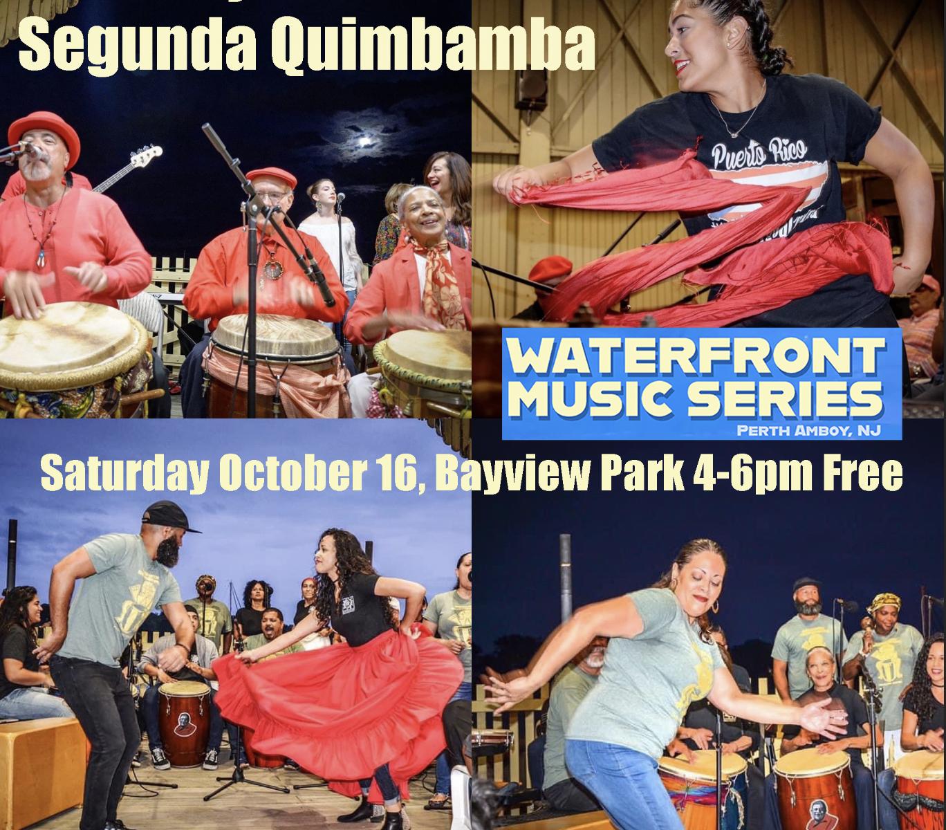Segunda Quimbamba in Perth Amboy Waterfront music Series