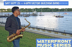 Victor Quezada Latin Jazz band Live in Bayview Park Perth Amboy